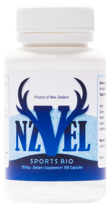 NZVel Deer Antler Velvet Sports Bio