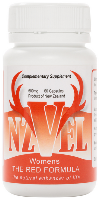 NZVel Deer Antler Velvet Womens Red Formula