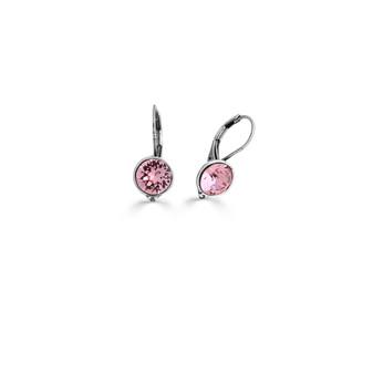 Rosy Drop Earrings