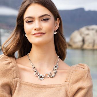 Caprice Chain Necklace - N2117 19cm - $149 (Matching Bracelet - B1615 - $89 )