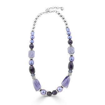 Wisteria Pearl Necklace ( N1959 )