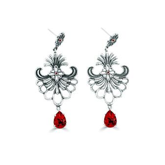 Siam Tuscany Earrings (E4317)