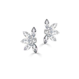 Crystal Daisy Earrings (E4263)-$139