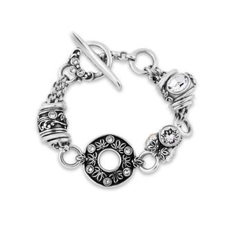 Lily Rose Floral Bracelet