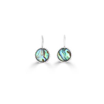 Teal Eco-Glam Earrings