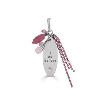 """I do believe"" Tassle Pendant"