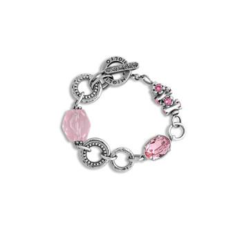 Pink Rocks Bracelet