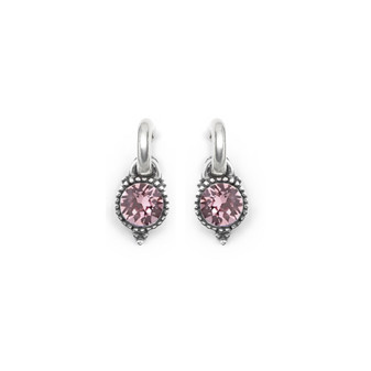Light Amethyst Carefree Earring Charms
