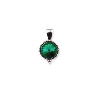 Emerald Sparkle Pendant