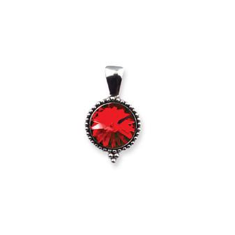 Scarlet Sparkle Pendant
