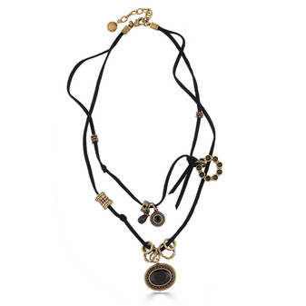 Material Girl Lariat Necklace ( N2051 )