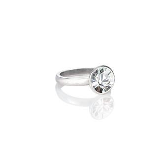 Bold Glam Rock Crystal Ring ( RR138 K/N/P/R )