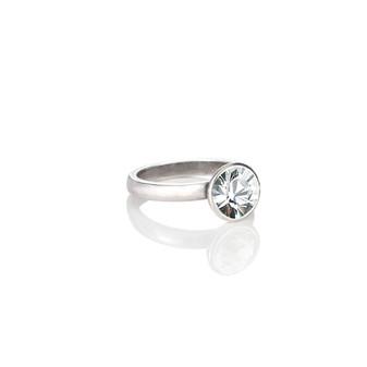 Petite Glam Rock Crystal Ring ( RR129 K/N/P/R )