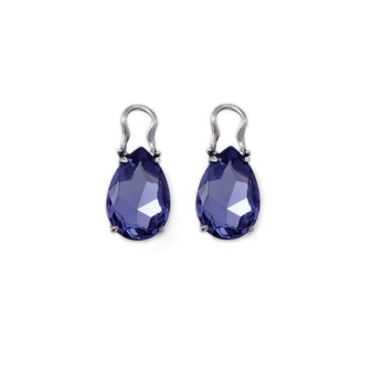 Bold Tanzanite Earring Charms (E2319)-ships immediately from Perth