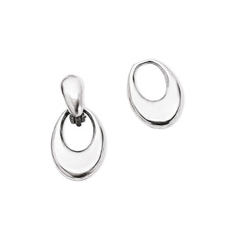 Bold Smooth Clip-On Earring Charms (E2271) - Ships immediately from Perth