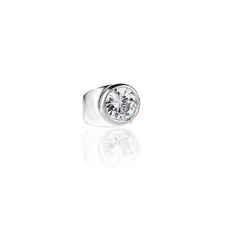 Stairway To Heaven Ring - Argentium Sterling Silver 925