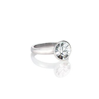 Glam Rock Crystal Ring