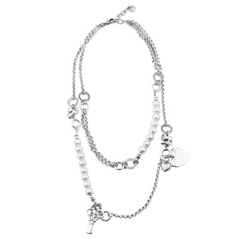 Pearls Of Love Necklace ( N2057 )