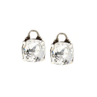 Brocade Crystal Charms (E2340)-ships immediately from Perth