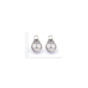 Grey Shell Pearl Pretty Woman Charms (E2475)-ships immediately from Perth