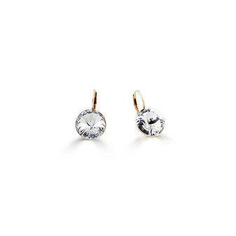 22ct gold-plated Petite Glam Temptation Earrings ( E4699 )