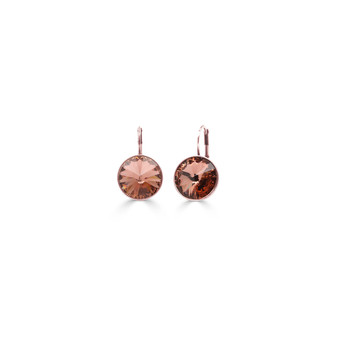 22ct rose gold-plated Blush Petite Glam Temptation Earrings ( E4711 )