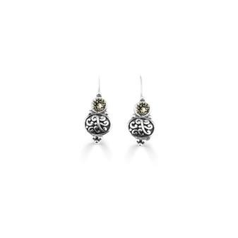 Black Diamond Amour Drop Earring  ( E4739 )