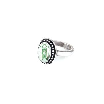 Navaho Oval Chrysolite Ring