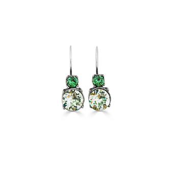 Tropical Jade Drop Earrings ( E4780 )