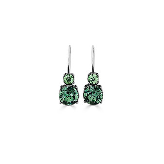 Mint Forest Drop Earrings ( E4781 )