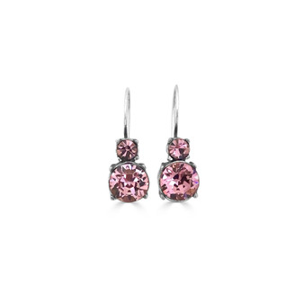 Apple Blossom Drop Earrings ( E4789 )