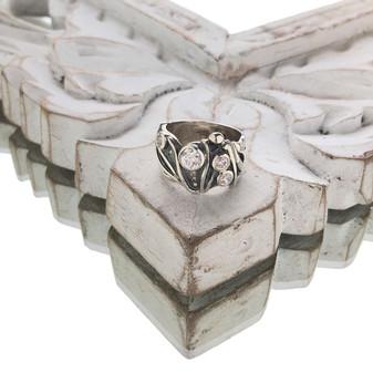 Sterling Silver Spring Fever Ring -  Sterling Silver 925