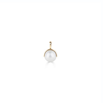 18ct Gold Vermeil Pearl Pendant