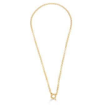 Hello Sunshine Gold Chain Necklace