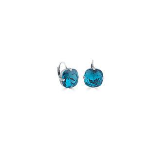 Petite Summer Life Indicolite Huggie Drop Earrings