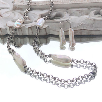 Wanderlust Pearl Necklace