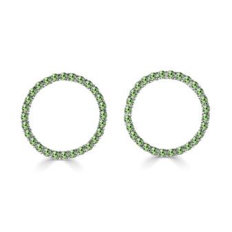 Peridot Karlie Stud Earrings