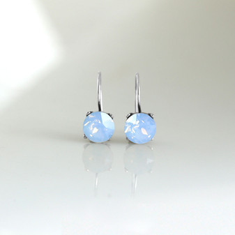 Air Blue Opal Drop Earrings
