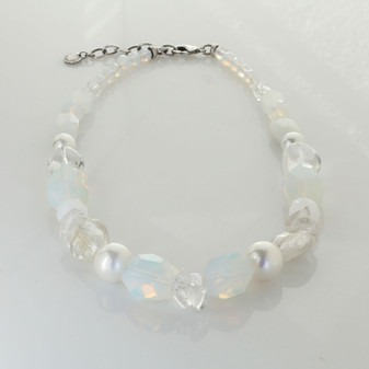 White Opal Magic Necklace