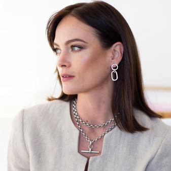 Essential Silver Belcher Chain Necklace
