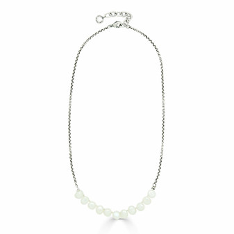 Sierra Pearl Chain Necklace