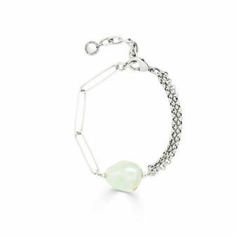 Alyssa Pearl Chain Bracelet
