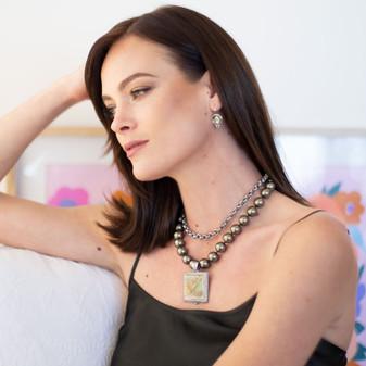 Aliana Pearl Necklace