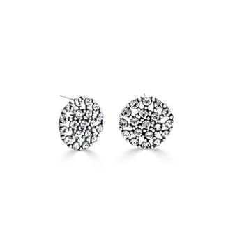 Bold Jules Pave Stud Earrings