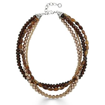 Luna Sunset  Layered Necklace