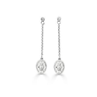 Luna Chain Drop Earrings