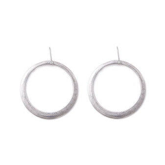 Hoop Earrings with Detachable French Wires