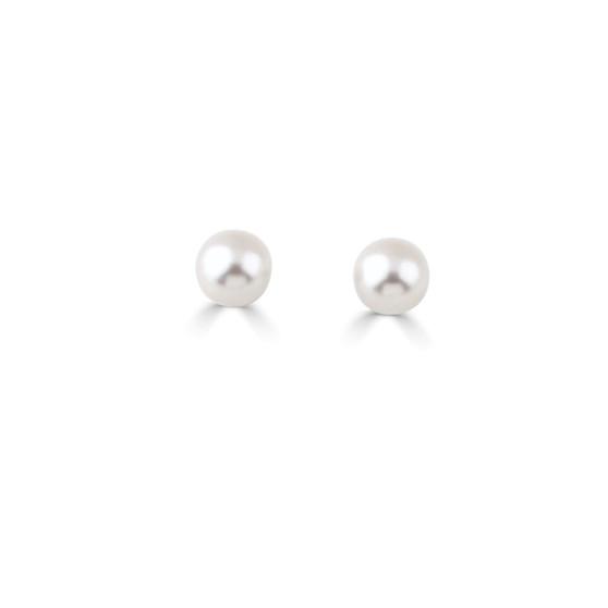 Pearl Cosmos Stud Earrings