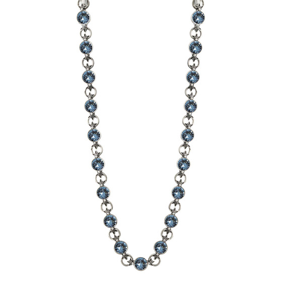 Denim Lily Rose Necklace (N1515)-$199