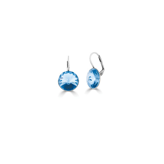 Bold Into The Blue Drop Earrings (E4017)